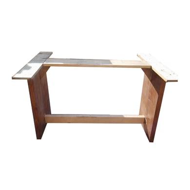 Accessori rettangolare in abete grezzo 6 pezzi