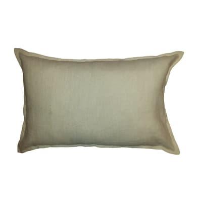 Cuscino Lino sabbia 60x