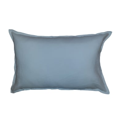 Cuscino Lino blu 60x