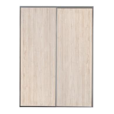 Ante scorrevoli Nashville in mdf effetto legno L 180 x H 270 cm