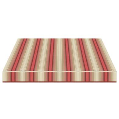Tenda da sole a caduta con bracci TEMPOTEST PARA' L 3 x H 2.5 m Cod. 5010/11 beige, rosso, marrone