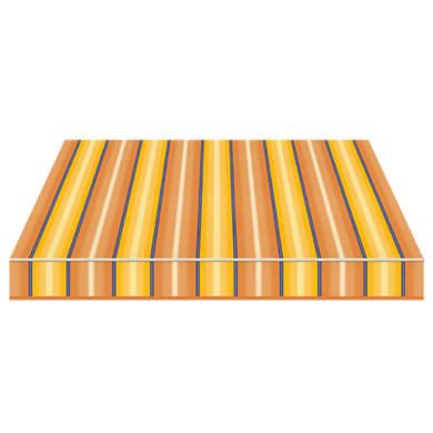 Tenda da sole a caduta con bracci TEMPOTEST PARA' L 3 x H 2.5 m Cod. 773/54 blu, giallo, avorio, marrone