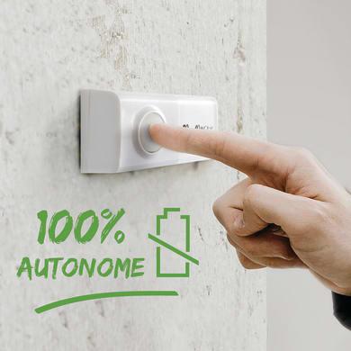 Campanello senza filo SCS SENTINEL EcoBell 100 bianco