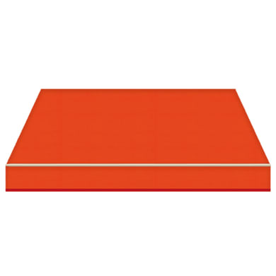 Tenda da sole a caduta con bracci TEMPOTEST PARA' L 3 x H 2.5 m Cod. 19 arancione