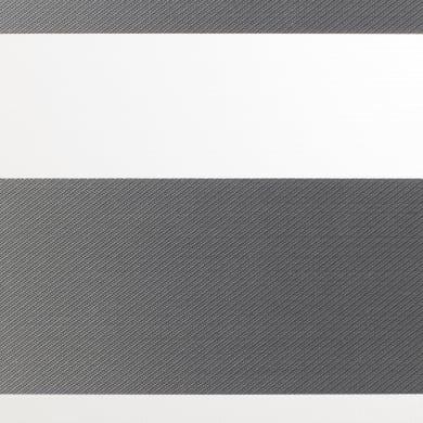 Tenda avvolgibile giorno / notte INSPIRE Quebec night/day grigio scuro 180 x 250 cm