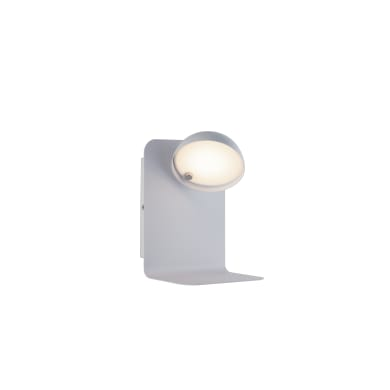 Applique BOING LED integrato bianco, in metallo, 14 cm,