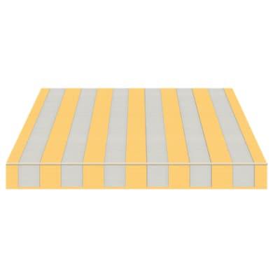 Tenda da sole a bracci estensibili manuale TEMPOTEST PARA' L 2.4 x H 2 m Cod. 5173/12 giallo e azzurro
