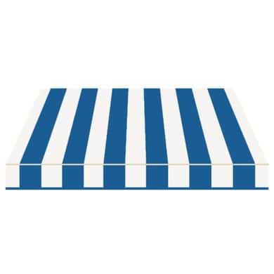 Tenda da sole a bracci estensibili manuale TEMPOTEST PARA' L 2.4 x H 2 m Cod. 116/15 avorio e blu