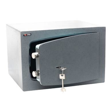 Cassaforte a chiave C Key da mobile con fissaggio L31 x P25 x H19 cm