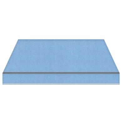 Tenda da sole a bracci estensibili manuale TEMPOTEST PARA' L 2.4 x H 2 m Cod. 17/15 azzurro