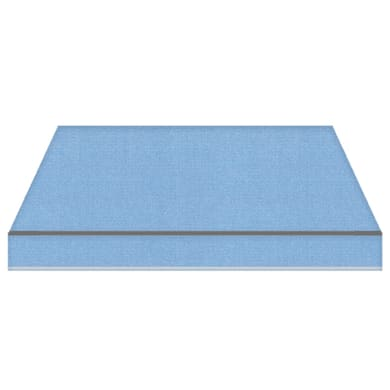 Tenda da sole a bracci estensibili TEMPOTEST PARA' L 2.4 x H 2 m Cod. 17/15 azzurro
