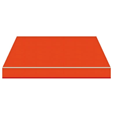 Tenda da sole a bracci estensibili TEMPOTEST PARA' L 2.4 x H 2 m Cod. 19 arancione