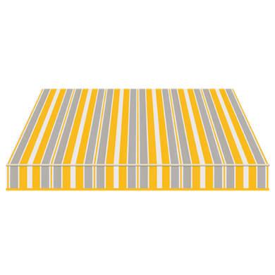 Tenda da sole a bracci estensibili manuale TEMPOTEST PARA' L 2.4 x H 2 m Cod. 294 azzurro, giallo, avorio