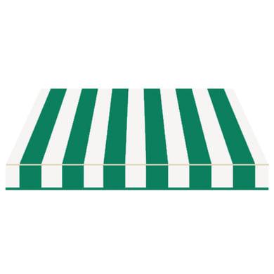 Tenda da sole a bracci estensibili manuale TEMPOTEST PARA' L 2.4 x H 2 m Cod. 32 avorio e verde