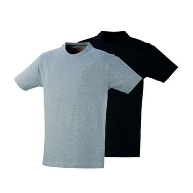 T-shirt da lavoro KAPRIOL tg m nero grigio 2 pezzi