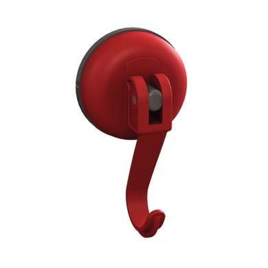 Gruccia Easy rosso aspetto gomma in plastica