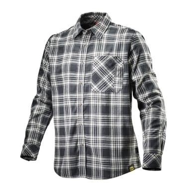 Camicia da lavoro DIADORA Shirt Check tg xl nero bianco