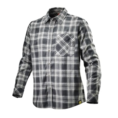 Camicia DIADORA Shirt Check Tg L nero bianco