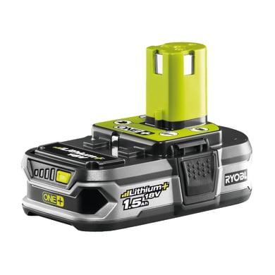 Batteria RYOBI RB18L15 in litio 18 V 1.5 Ah