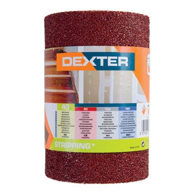 Rotolo di carta abrasiva DEXTER 855999 per legno grana 40