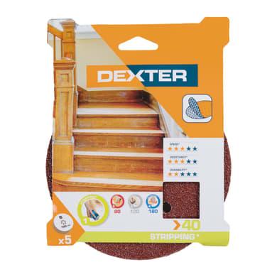 Disco abrasivo velcro ® multiforato DEXTER grana 40