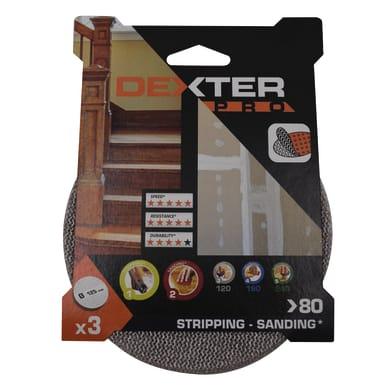 Disco abrasivo strappo DEXTER PRO grana 80