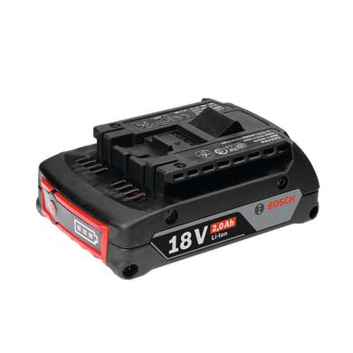Batteria BOSCH GBA18V in litio (li-ion) 18 V 2 Ah