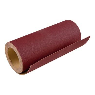 Rotolo di carta abrasiva DEXTER 856118 per legno grana 80
