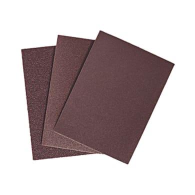 Set di fogli abrasivi per legno / vernice grana 80, 25 pezzi
