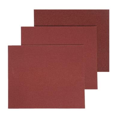 Carta abrasiva DEXTER 855981 per legno grana 80, 5 pezzi