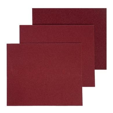 Carta abrasiva DEXTER 856129 per legno grana Assortita, 5 pezzi
