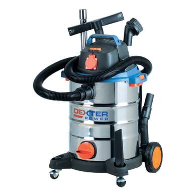 Aspiratore solidi e liquidi DEXTER POWER aspirazione 17 kPa 30 L 1500 W