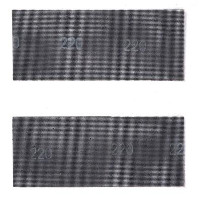 Maglia abrasiva DEXTER 855954 per legno / vernice grana 80, 2 pezzi