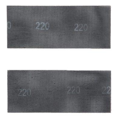 Maglia abrasiva DEXTER 856077 per gesso grana 40, 2 pezzi