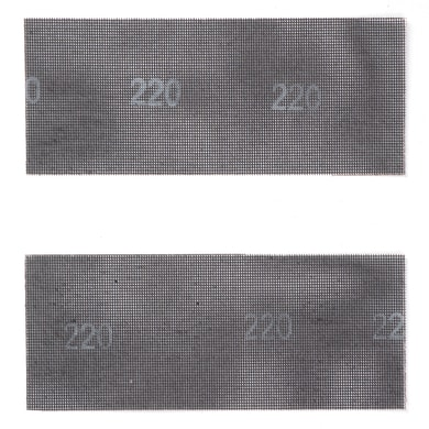 Maglia abrasiva DEXTER 855953 per gesso grana 180, 2 pezzi