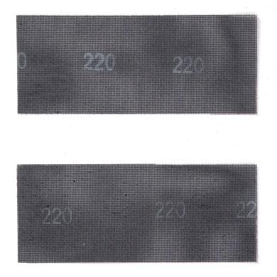 Maglia abrasiva DEXTER per gesso grana 120, 2 pezzi