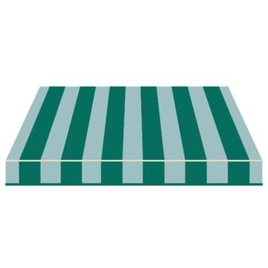 Tenda da sole a bracci estensibili manuale TEMPOTEST PARA' L 2.4 x H 2 m Cod. 40 verde e grigio