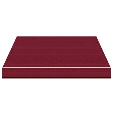 Tenda da sole a bracci estensibili manuale TEMPOTEST PARA' L 2.4 x H 2 m Cod. 407/11 rosso