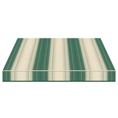 Tenda da sole a bracci estensibili manuale TEMPOTEST PARA' L 2.4 x H 2 m Cod. 5001/1 verde e beige