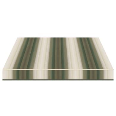 Tenda da sole a bracci estensibili manuale TEMPOTEST PARA' L 2.4 x H 2 m Cod. 5001/7 verde, beige, grigio
