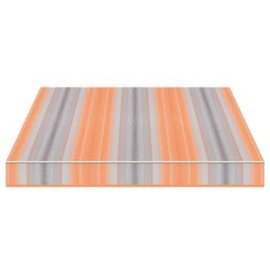 Tenda da sole a bracci estensibili manuale TEMPOTEST PARA' L 2.4 x H 2 m Cod. 5001/26 arancione e azzurro