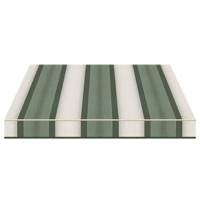 Tenda da sole a bracci estensibili manuale TEMPOTEST PARA' L 2.4 x H 2 m Cod. 5071/7 verde, grigio, avorio
