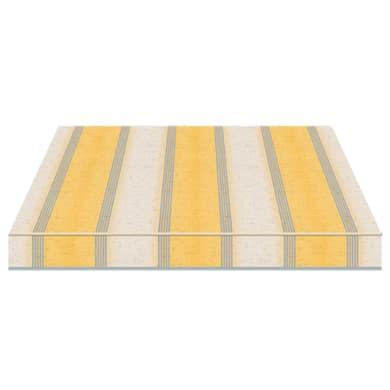 Tenda da sole a bracci estensibili manuale TEMPOTEST PARA' L 2.4 x H 2 m Cod. 5071/82 avorio e giallo