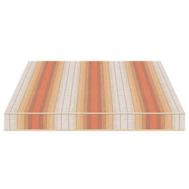 Tenda da sole a bracci estensibili manuale TEMPOTEST PARA' L 2.4 x H 2 m Cod. 5072/88 arancione, rosso, beige, avorio