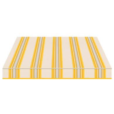 Tenda da sole a bracci estensibili manuale TEMPOTEST PARA' L 2.4 x H 2 m Cod. 5118/62 giallo, azzurro, avorio