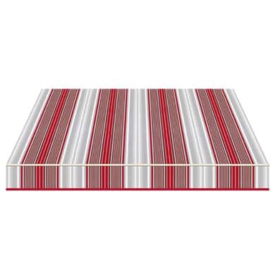 Tenda da sole a bracci estensibili TEMPOTEST PARA' L 2.4 x H 2 m Cod. 5167/11 rosso, grigio, avorio