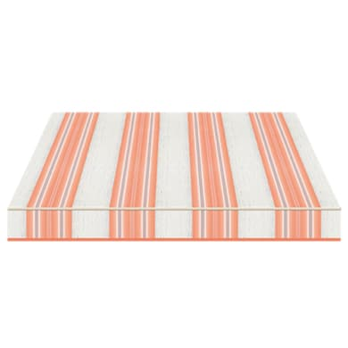 Tenda da sole a bracci estensibili manuale TEMPOTEST PARA' L 2.4 x H 2 m Cod. 5226/26 arancione, azzurro, avorio