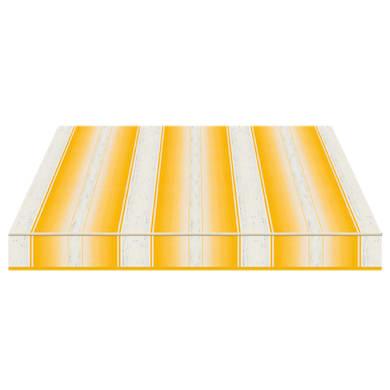 Tenda da sole a bracci estensibili manuale TEMPOTEST PARA' L 2.4 x H 2 m Cod. 5231/12 giallo e avorio