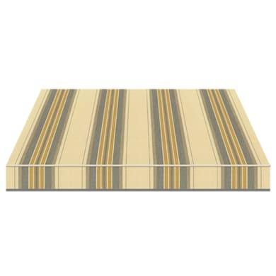 Tenda da sole a bracci estensibili manuale TEMPOTEST PARA' L 2.4 x H 2 m Cod. 5347/58 beige, giallo, grigio