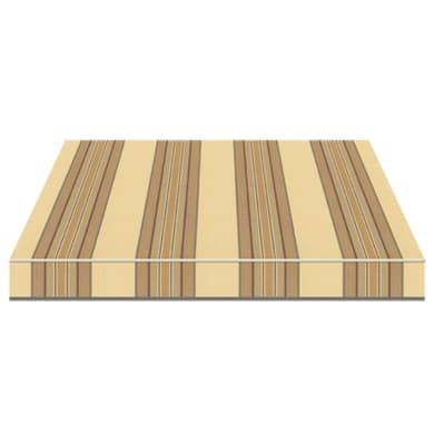 Tenda da sole a bracci estensibili manuale TEMPOTEST PARA' L 2.4 x H 2 m Cod. 5348/58 beige, marrone, nero